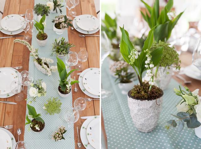 diy realisez un chemin de table fleuri et parfume avec With chambre bébé design avec chemin de table fleuri mariage