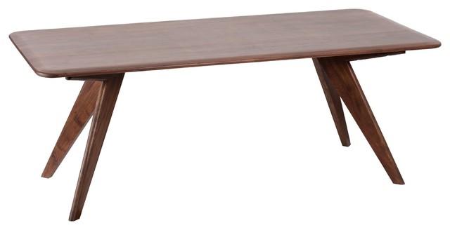 Dalston Dining Table, Light Mahogany