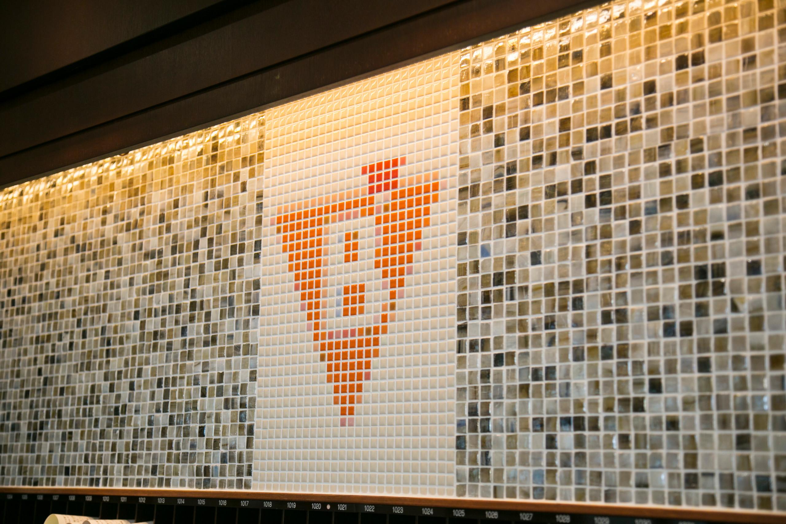 名古屋ビーズホテル 1階メインロビーフロント壁画
