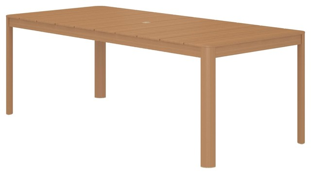 Cosco Outdoor Living Sand Springs 88 Extra Large Aluminum Patio Dining Table