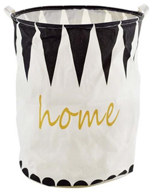 The Nordic Style Large Laundry Basket, Clothes Hamper Storage, C.