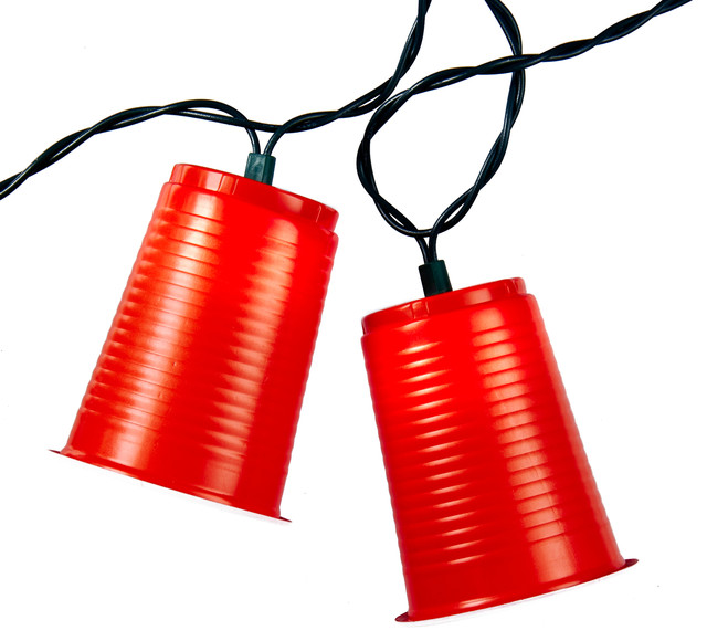 Party Cup Light Strand - Contemporary - Novelty Lighting - by Kurt S. Adler, Inc.
