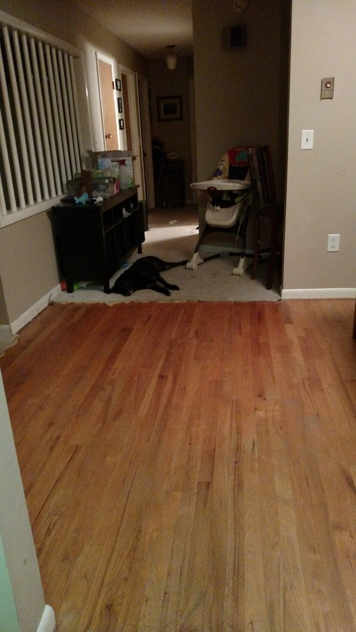 Wax Finish 1960s Wood Floors How To Clean