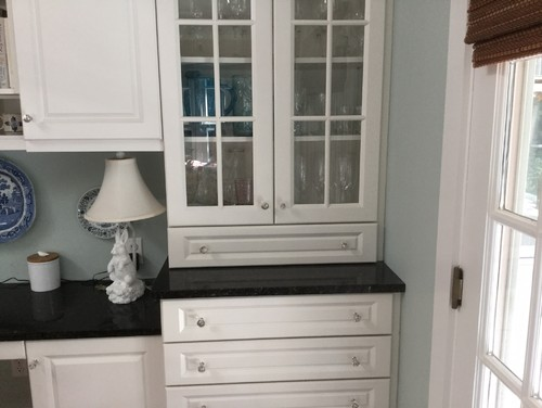Kitchen Cabinets That Sit On Countertop