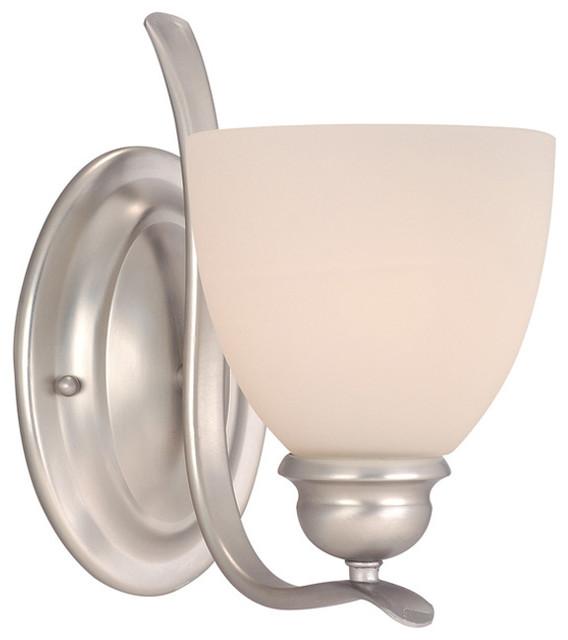 Vaxcel AL-VLU0010 Avalon 1-Light Vanity - Transitional - Bathroom Vanity Lighting - by Lighting ...