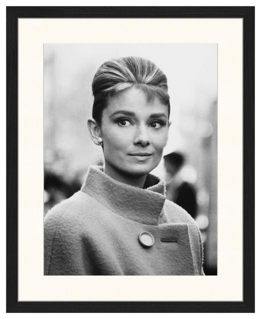 """Classic Audrey Shot"" Framed Print, 40x50 cm"