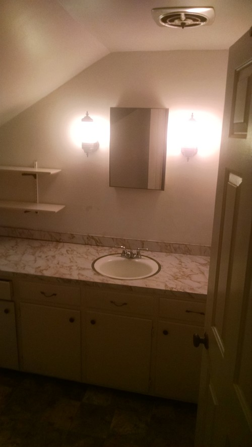 Need A Shower Solution For Slanted Ceiling Bathroom - Slanted ceiling bathroom