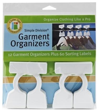 Garment Organizers.
