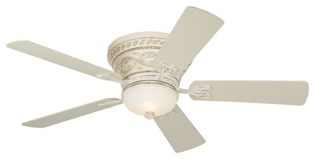Country Cottage 52 Casa Vieja Ancestry 8482 White Hugger Ceiling Fan