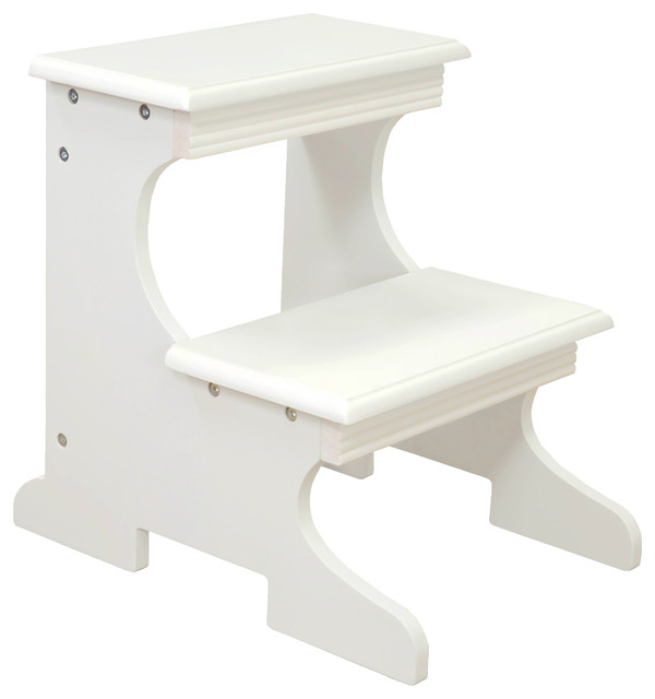 Step Stool Transitional Kids Step Stools And Stools By Megahome