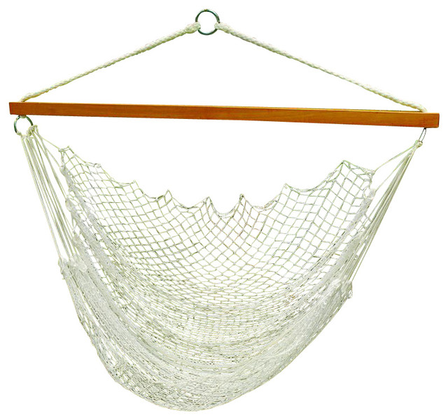 hanging nylon net chair modern hammocks and swing