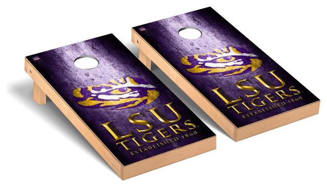 LSU Tigers Louisiana State 5 x 8 Tailgating Area Rug