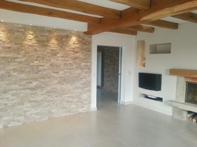 R novation et modernisation d 39 une maison basque contemporain bordeaux - Maison basque contemporaine ...