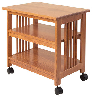 Mission Printer Cart - Craftsman - Office Carts And Stands ...