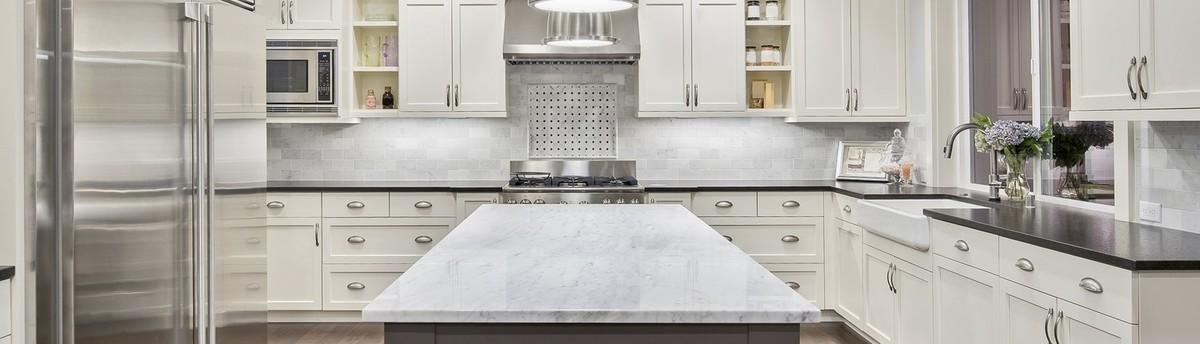 Arabescus White Granite Countertops