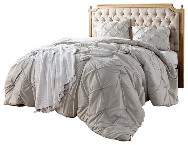 213032c5b82 Silver Birch Pin Tuck Comforter - Contemporary - Comforters And ...