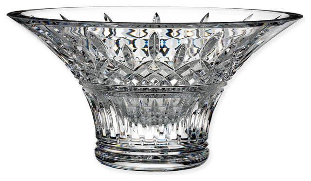 House Of Waterford Hositality Crystal Lismore 10 Quot Bowl Traditional Decorative Bowls By