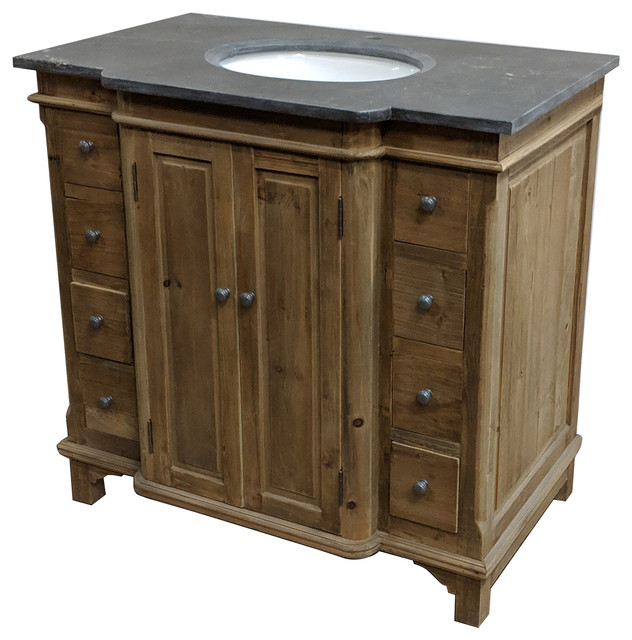 38 Reclaimed Pine Single Bath Vanity