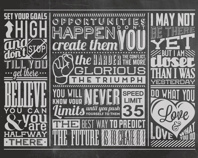 chalk quotes wall mural contemporary wallpaper by brewsterchalk quotes wall mural contemporary wallpaper by brewster home fashions