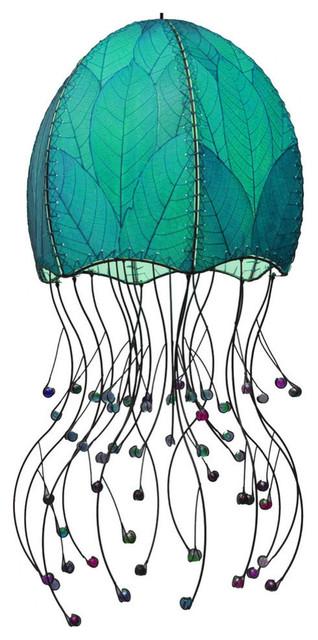 Jellyfish Hanging Sea Blue.