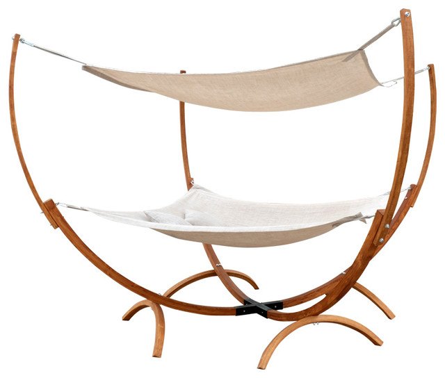 Square Hammock Stand With Hammock Amp Canopy Contemporary