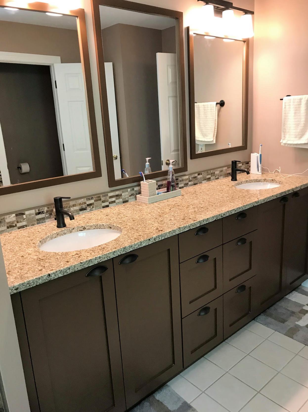 Custom Bathroom- Double Vanity
