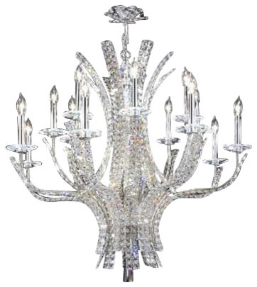 James Moder Chandeliers: 95640S22 James R Moder Eclipse Chandelier contemporary-chandeliers,Lighting