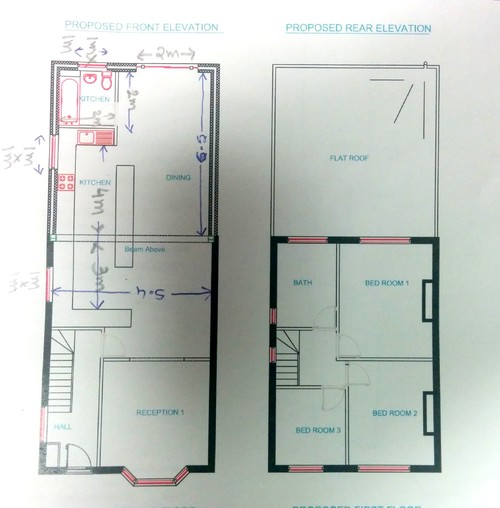 Need Help With My Kitchen Design For Rear Extension