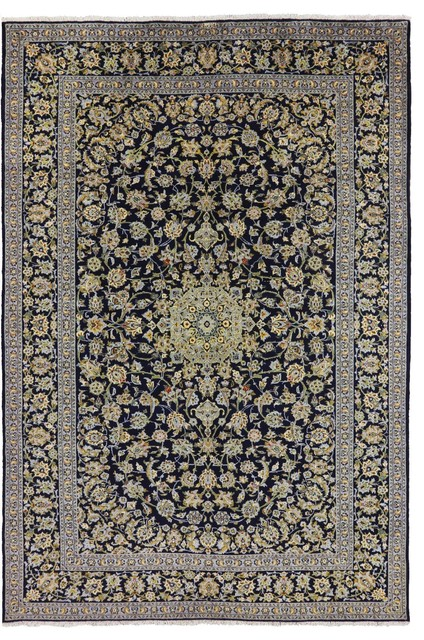 New Authentic Persian Kashan Full Pile Wool Rug 8 4 Quot X12 4