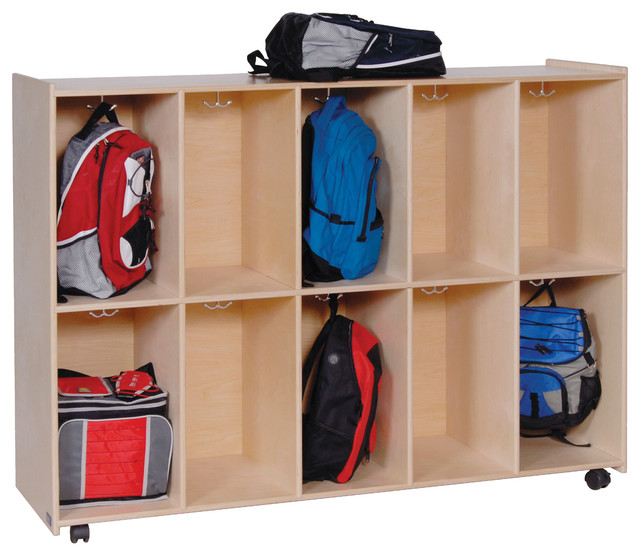 Steffy Wood Products Inc. Mobile Cubby Lockers - Storage Cabinets | Houzz