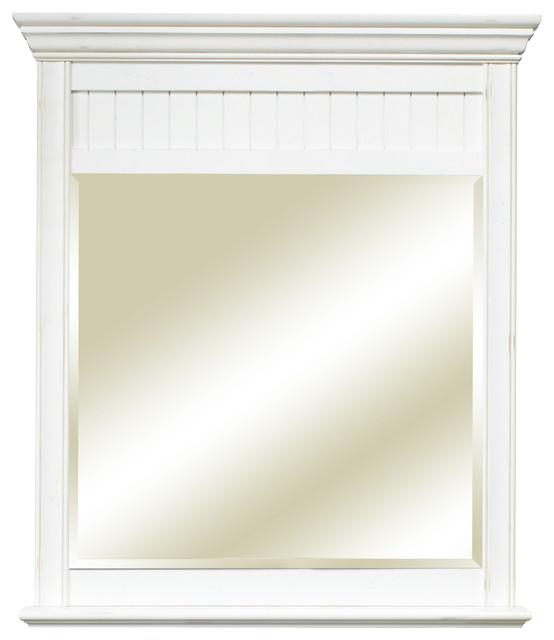 Cottage Retreat Mirror, Antique White.