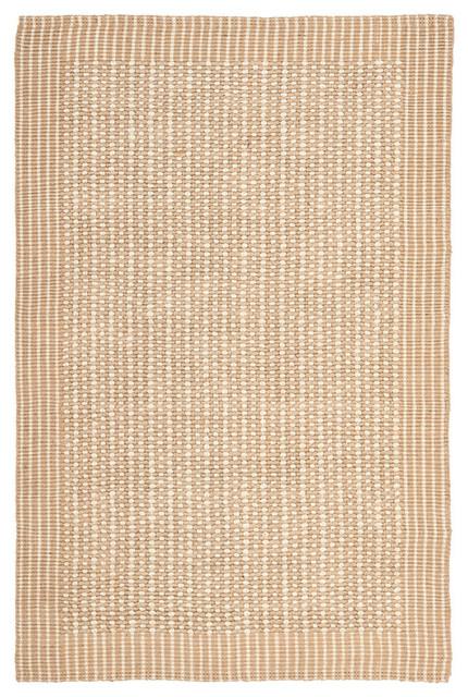 Safavieh Symon Natural Fiber Rug, Ivory And Beige, 6&x27;x9&x27;.
