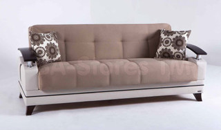 Rodos Daisy L Brown Sofa Sleeper