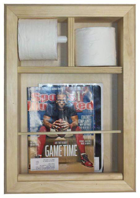 camarillo bevel frame inthewall magazine racktp combo