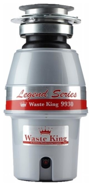 Waste King 0.50 Hp Continuous Feed Operation Waste Disposer.