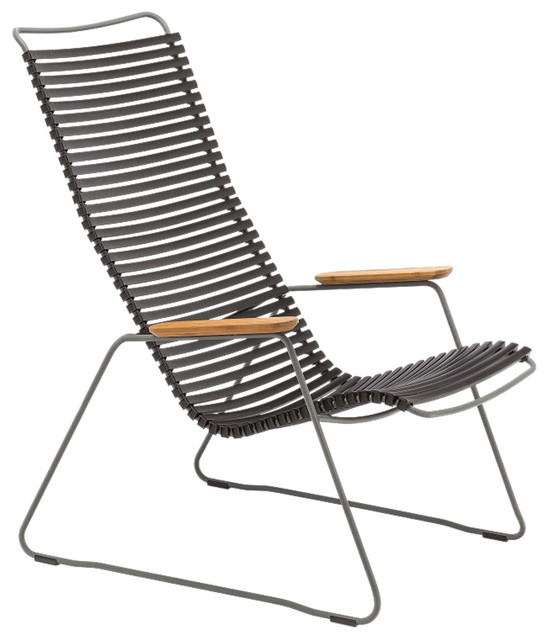Magnificent Click Lounge Chair Black Caraccident5 Cool Chair Designs And Ideas Caraccident5Info