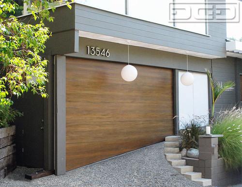Custom Garage Door Solution For Uneven Ground Garages In San Francisco