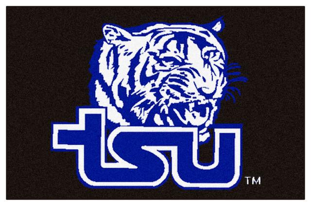 Tennessee State Tigers Football Helmet Area Rug