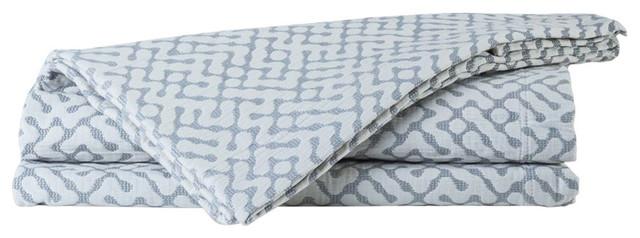 Morley Bedspread, Grey, Super King 270x270 cm