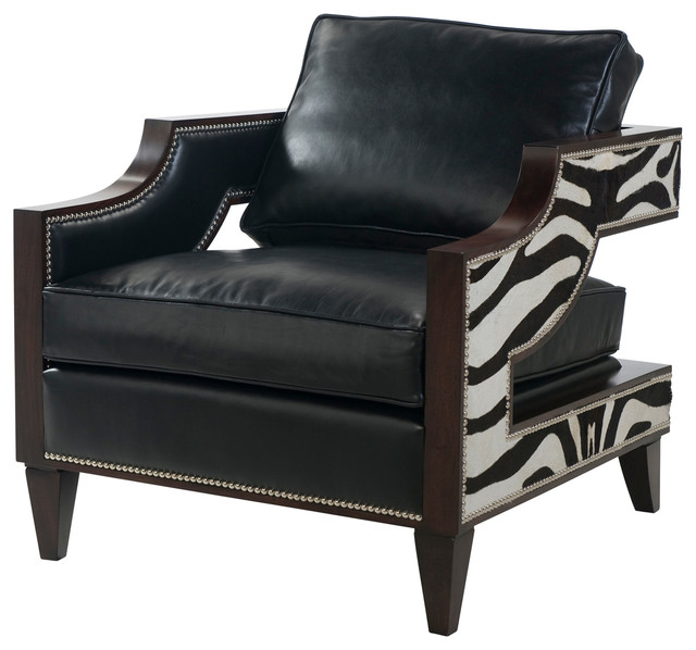 Outstanding Theodore Alexander Vanucci Eclectics Wild Side Upholstered Chair Cjindustries Chair Design For Home Cjindustriesco