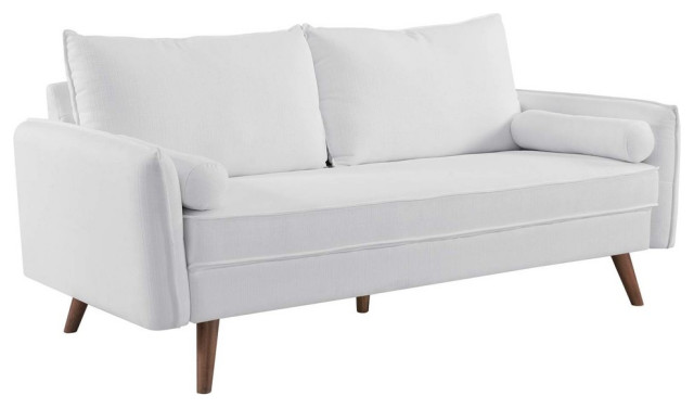 Revive Upholstered Fabric Sofa - Midcentury - Sofas - By GwG Outlet