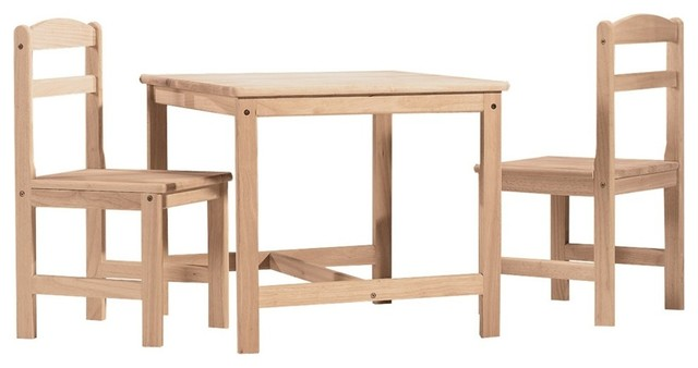 Mason Ignaas 3-Piece Wooden Table And Chairs Set.