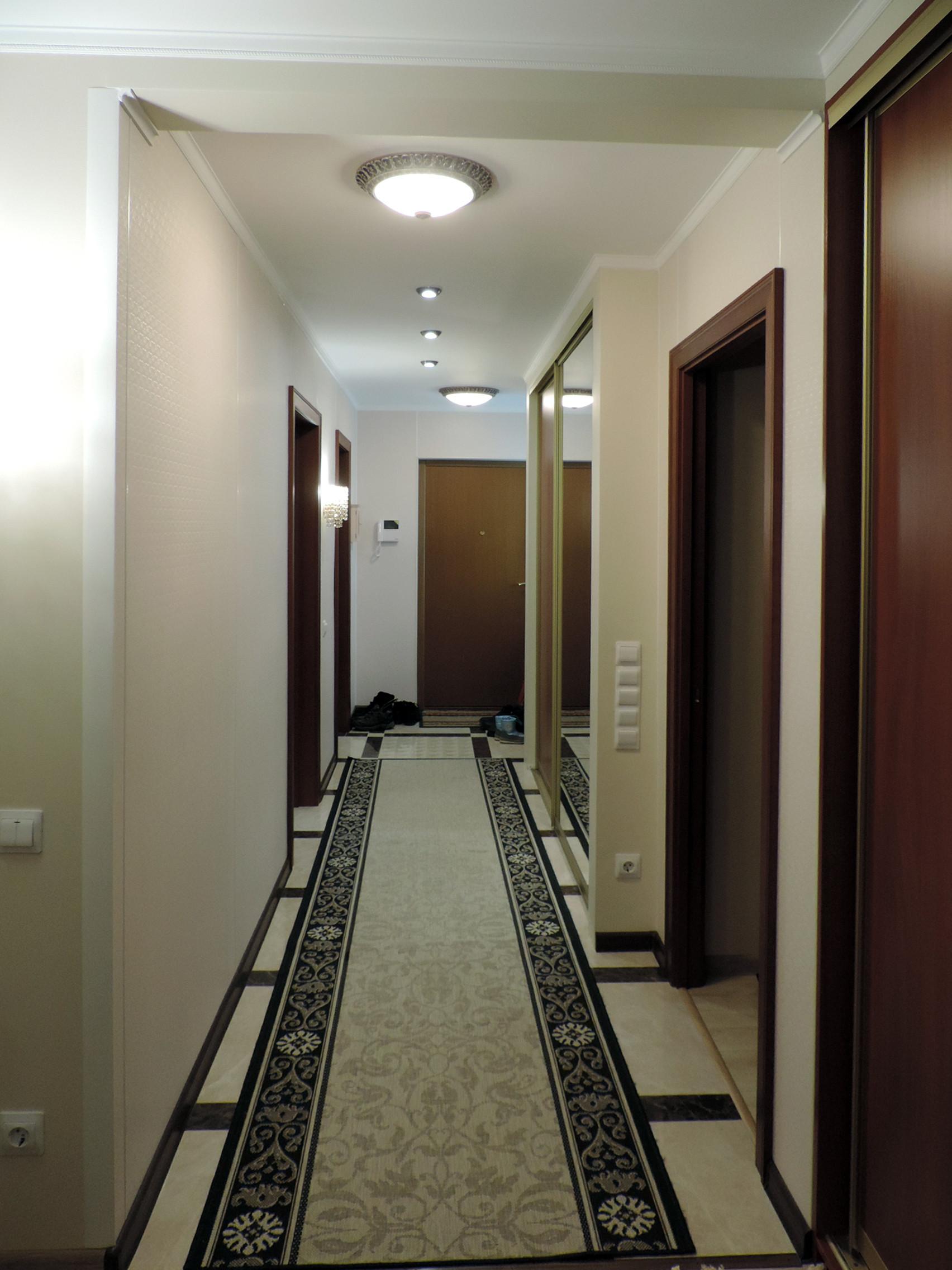 Квартира 120 кв м классическом стиле, Академическая.