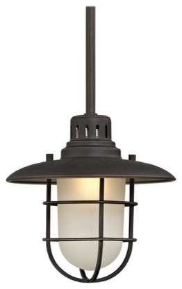 812-78 Nautical Mini-Pendant Light, Bolivian Bronze