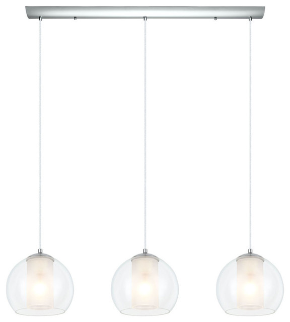 Exceptionnel Chrome Bolsano 3 Light Multi Light Pendant