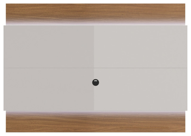 Manhattan Comfort Lincoln Floating Wall Tv Panel 1.9 With Led Lights.