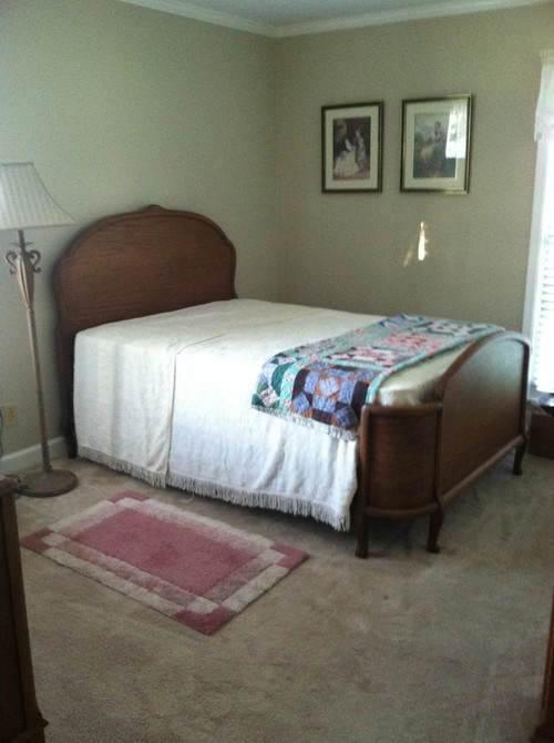 Help Decorating Bedroom Endearing Need Help With Bedding And Decorating My 1924 Mahogany Bed Room Set Inspiration Design