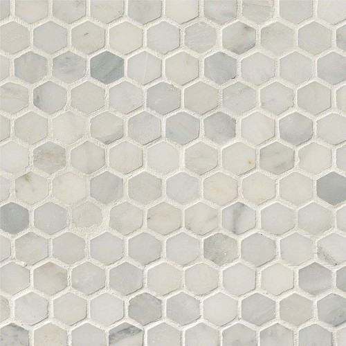 Can You Put Honed Arabescato Carrara Marble Tile On The Shower Floor