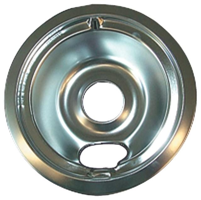 "Range Kleen Ge/hotpoint Chrome Drip Pan, Style B, 6"""