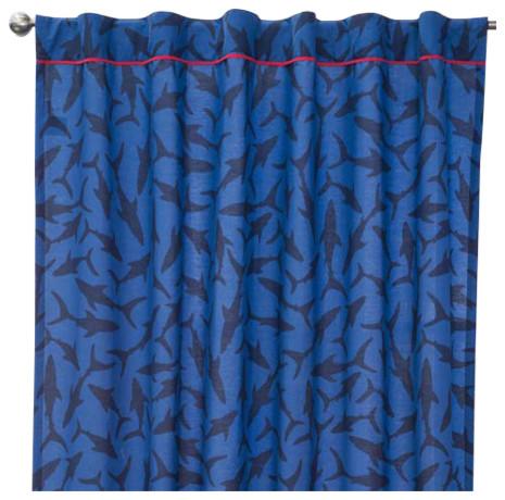 Shark Curtains Set,.
